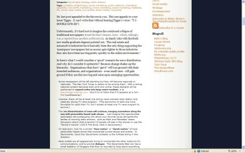 Screen shot of my blog roll... scroll waaay down and look to right
