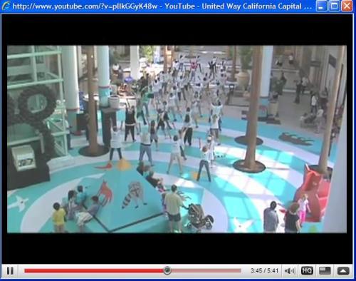 United Way's flash mob June 2009