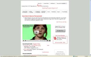 Greater Philadelphia Arts Council Home Page