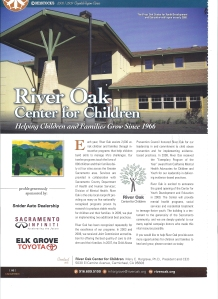 "Comstock's ""Capital Region Cares"" spread on River Oak Center for Children"