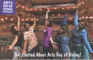 #artsdayofgiving
