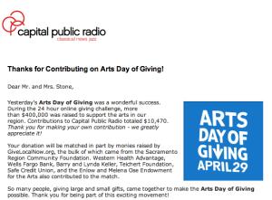 Capitol Public Radio Thanks