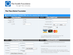 Seattle Foundation giving page