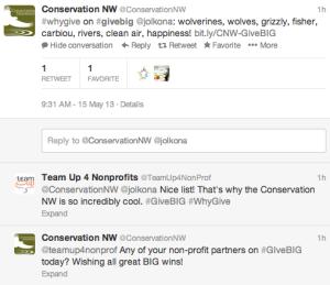 @Conservation NW tweet
