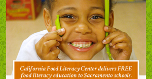 California Food Literacy Center Big Day of Giving Promo